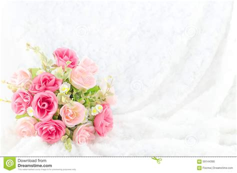 Wedding Background Pink by Pastel Coloured Artificial Pink On White Fur
