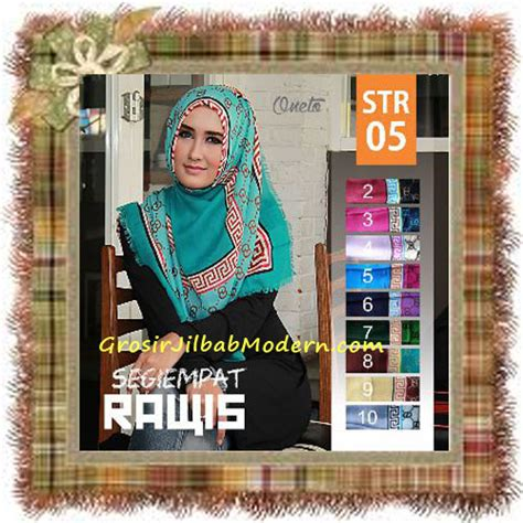 Jilbab Segi Empat Oneto jilbab segi empat trendy terbaru rawis str 05 cantik