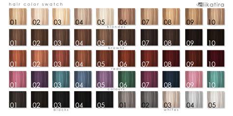 myth s big hair color swatch chart by mytherea on deviantart elikatira hair color swatch medium hair styles ideas 34785