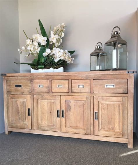 brand new htons style solid hardwood buffet sideboard