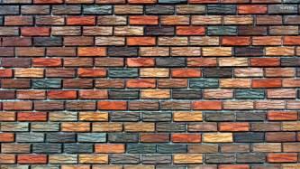textured brick wallpaper bedroom ideas blue wallpaper
