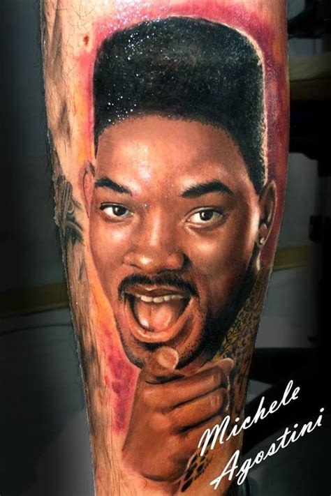 will smith tattoo the fresh prince of bel air portaritratti by