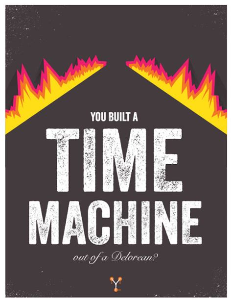 film quotes back to the future minimalist posters featuring iconic quotes from back to