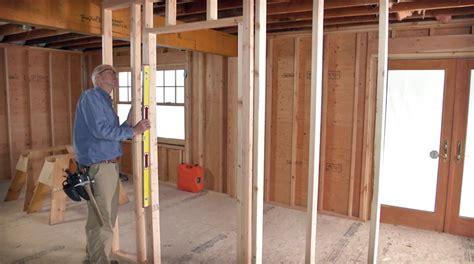 frame  door opening fine homebuilding