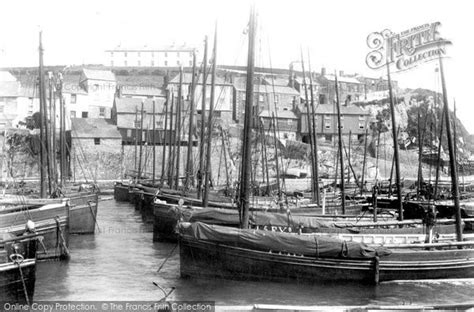a history of mevagissey books mevagissey the harbour 1904 francis frith