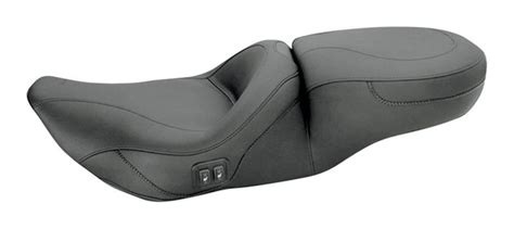 mustang seats for 2016 glide mustang one heated touring seat for harley road king