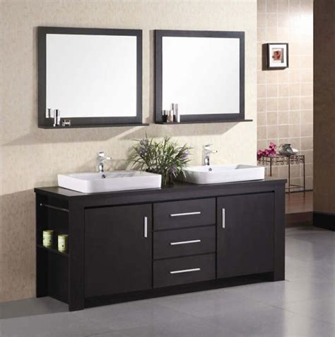 Bathroom With Two Vanities by Modular Bathroom Vanities Modern Bathroom Vanities And