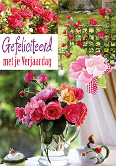verjaardag 20 jaar bloemen dubbele kaarten bloemen hartelijk gefeliciteerd 1036