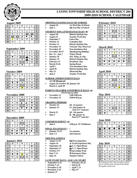 District 204 Calendar Free Other Psd File Page 116 Newdesignfile