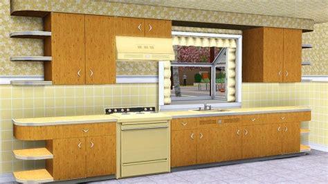 sims 3 modern kitchen my mid century modern kitchen for sims 3 retro renovation