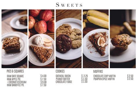 design dessert menu dessert menu for the food forest agatha photography