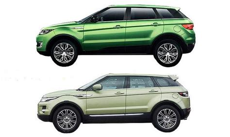 ford range rover look alike land rover blasts evoque look alike from china