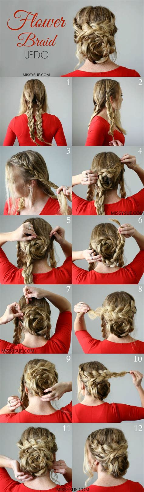 Wedding Hair Braid Tutorial by 1361 Best Images About Hair Tutorials On