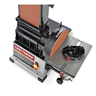 craftsman bench sander craftsman 3 4 hp 6 quot x 9 quot belt disc sander 22500
