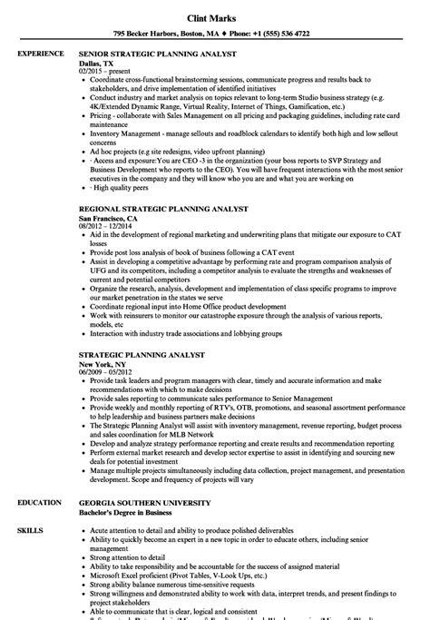 strategic planning resume exles strategic planning resume exles resume ideas