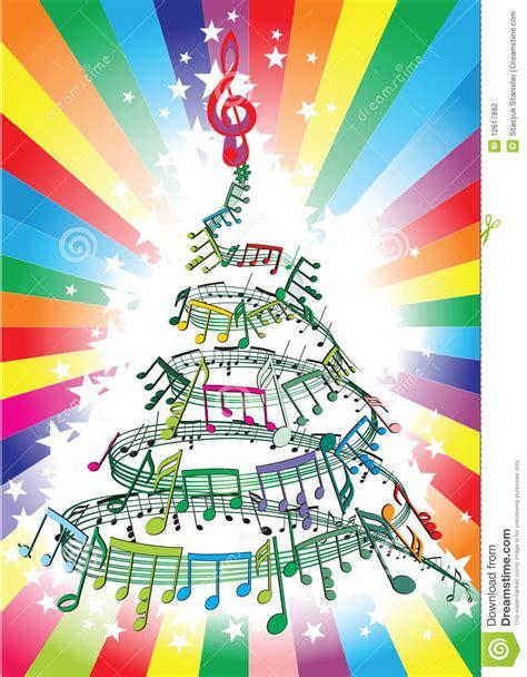 new year song compilation notes de musique d an neuf illustration de vecteur image