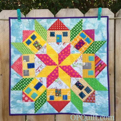 house quilt patterns create a bit of whimsy with this mini houses quilt quilting digest