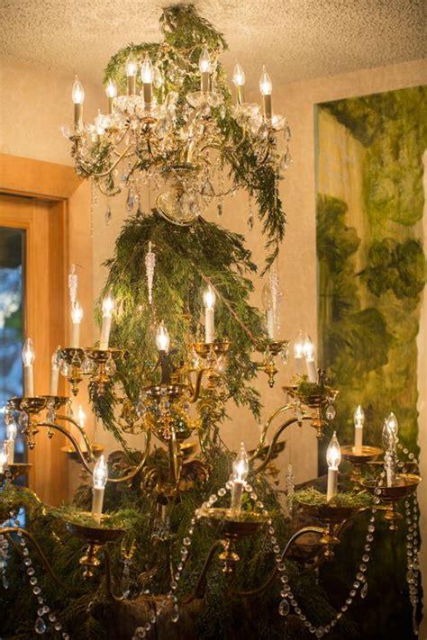 chandelier christmas tree