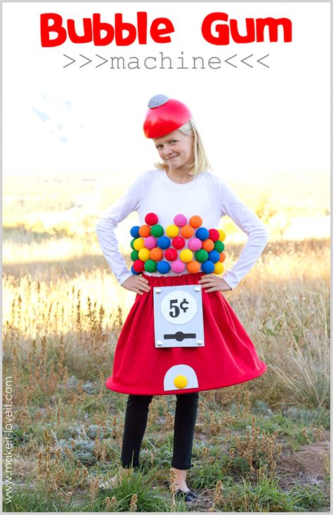 jar costume easy diy costume gumball machine costume a low sew project make