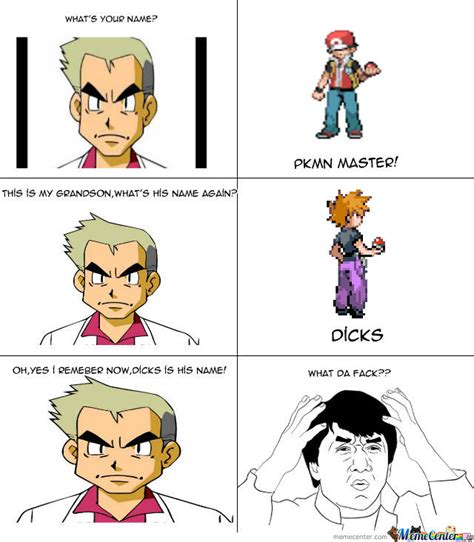 Prof Oak Memes - pokemon meme professor oak logic images pokemon images