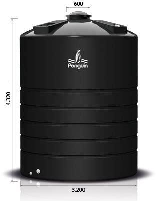 Tangki Air Penguin Kapasitas 1050 Liter Tb 110 tangki silinder penguin tb 3000