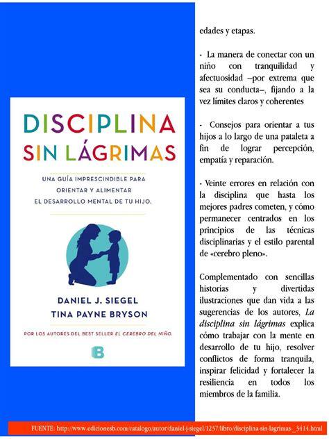 la disciplina sin lagrimas octubre noviembre no 1 by instituto educacional juan xxiii page 5 issuu