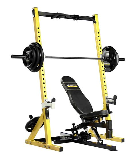powertec bench press workbench half rack powertec the bench press com power