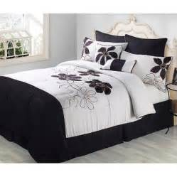 black and white bedding for discontinued fulton 8 comforter set black and