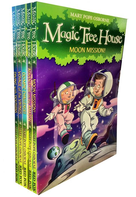 magic tree house book set magic tree house series collection 5 books set children