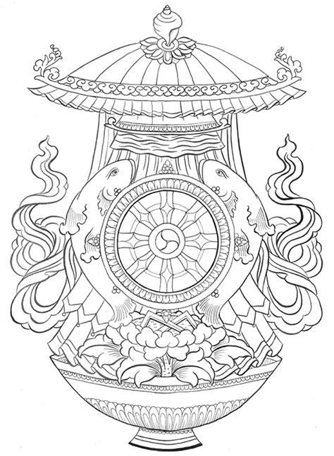 Os Oito Símbolos Auspiciosos do Budismo Tibetano