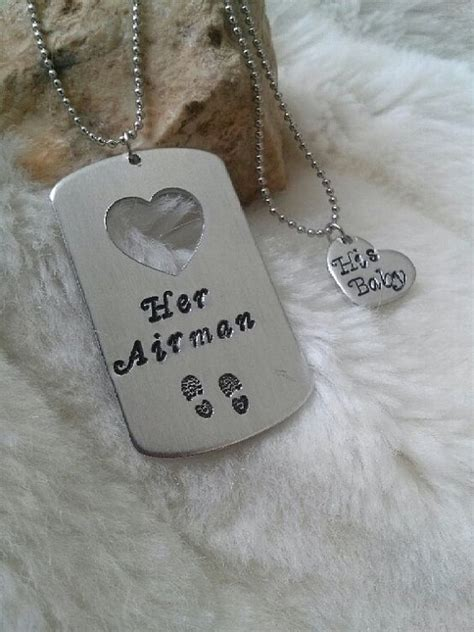 personalized tags for boyfriend tags necklace set and sted on