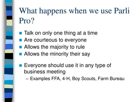 ppt parliamentary procedure powerpoint presentation id 146150