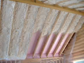 Barn Roof Truss North Country Insulation Icynene Insulation System