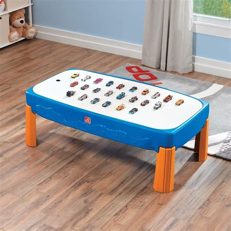 step2 wheels table step2 wheels car track play table activity toys direct
