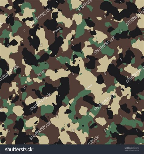 pattern army vector seamless woodland us army camouflage pattern stock vector