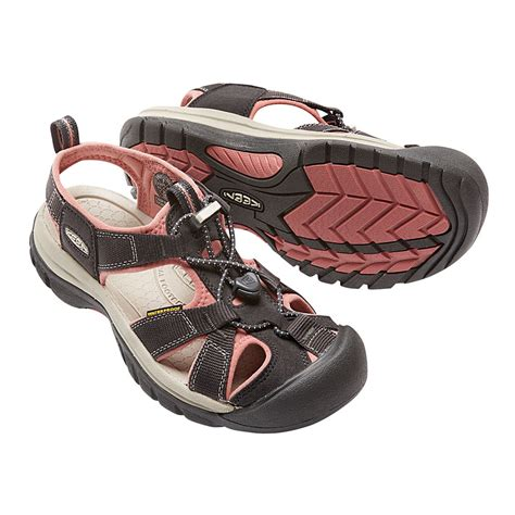 waterproof sandals keen venice h2 womens pink grey waterproof walking hiking