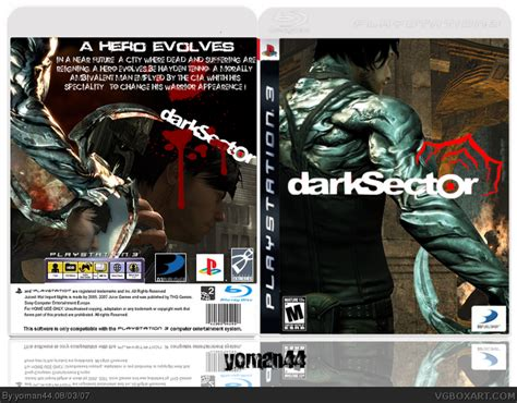 Bd Ps3 Sector Darksector sector playstation 3 box cover by deleted