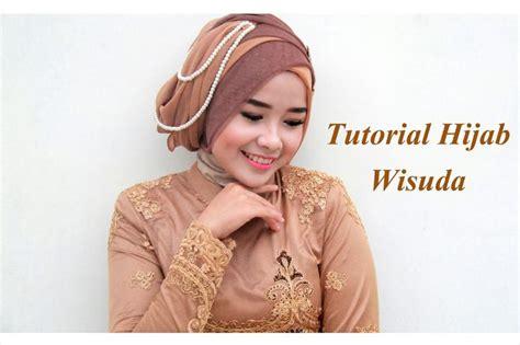 tutorial hijab kebaya wisuda tutorial hijab wisuda 2015 mutia yulita hijab