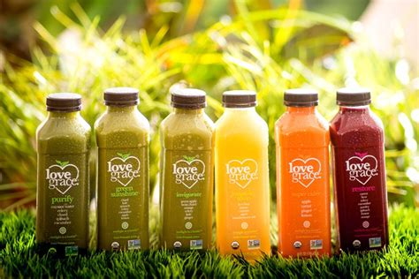 Detox Juice Delivery Nyc by Gourmet Organic Cold Pressed Juices Grace Foods