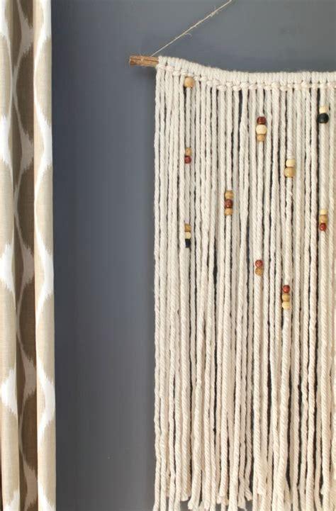 Diy Macrame Wall Hanging - diy macrame wall hanging yarns and walls