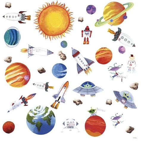 outer space wall stickers outer space wall decals a mighty