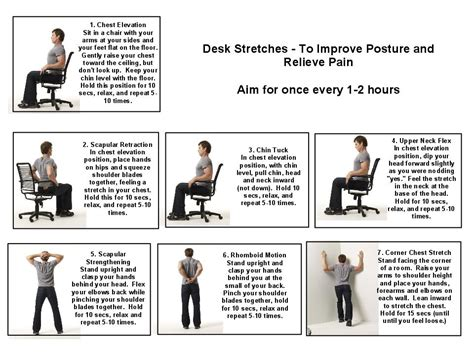 Exercises To Do At Desk by Office Stretches To Do At Your Desk Hostgarcia