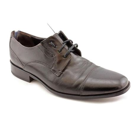 shop bostonian s collier leather dress shoes wide size 9 free shipping today