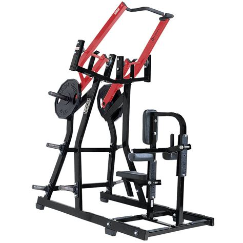 hammer strength plate loaded iso lateral front lat