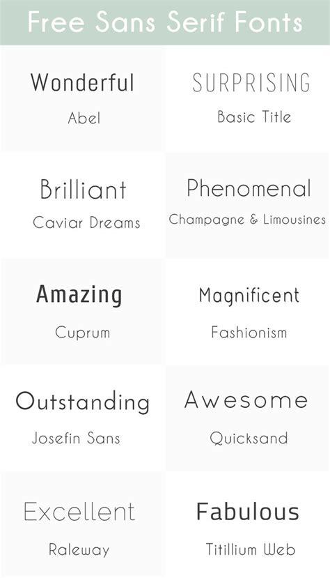 best sans serif fonts best 25 sans serif fonts ideas on sans serif