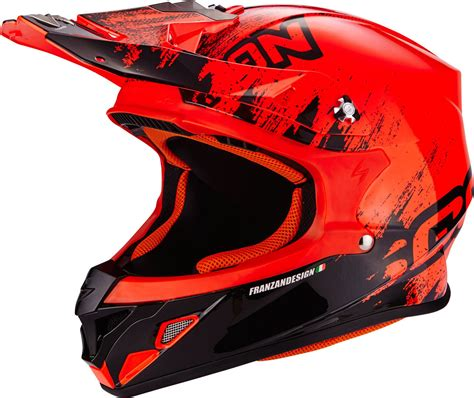 scorpion motocross helmets scorpion vx 21 air mudirt cross helmet motorcycle
