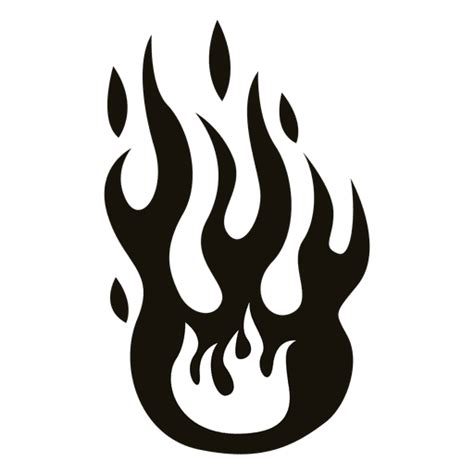 Flames Black Hitam illustrationblack white transparent png
