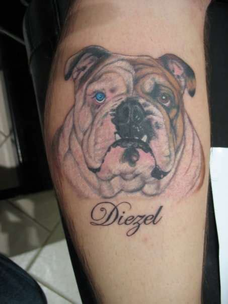 tribal bulldog tattoo bulldog tattoos search ideas