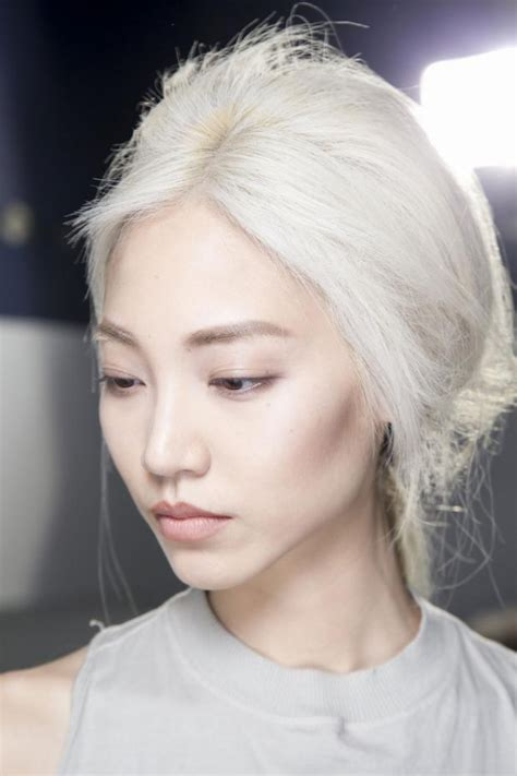 images of hair bleached white the bleached factor 7 strange hair trends that are only
