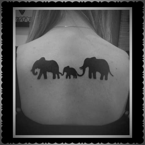52 black elephant tattoos ideas